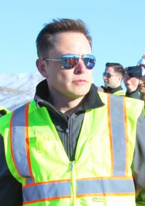Elon Musk aviator glasses