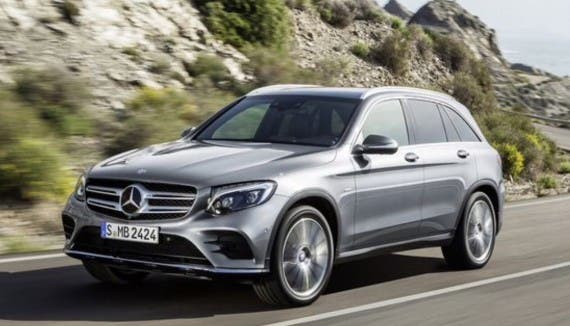 mercedes glc 350 e 4matic plug in suv unveiled cleantechnica