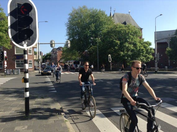 Netherlands bicycling