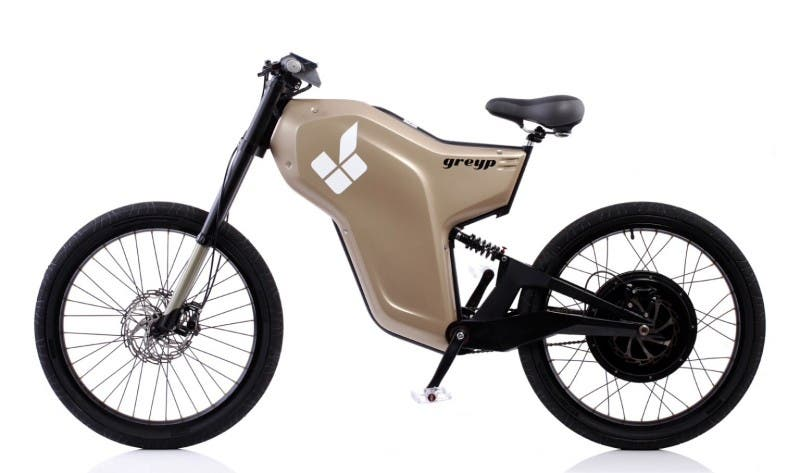 Greyp G12 High Perfomance Electric Bike From Rimac