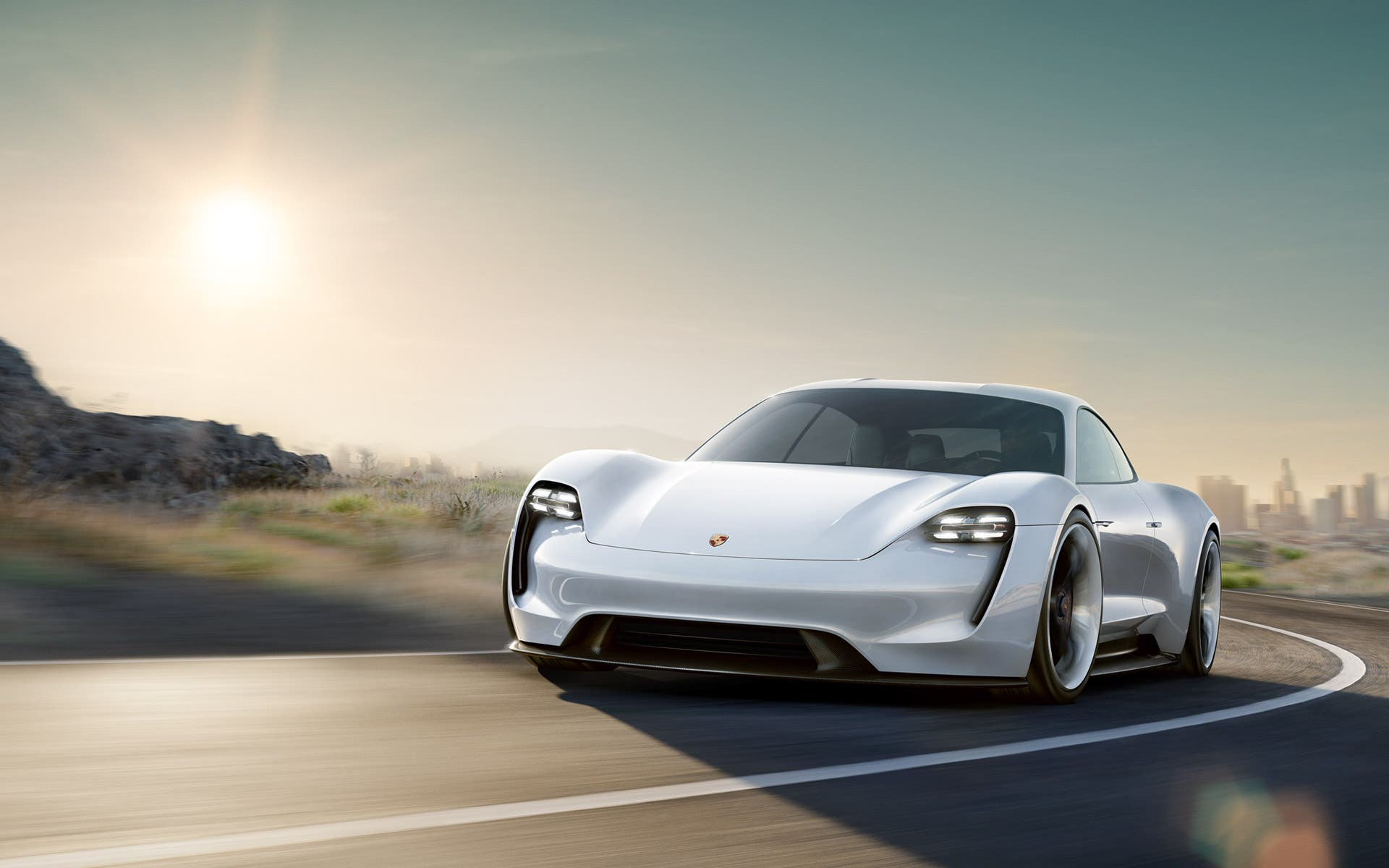 electric porsche mission e would be awesome if built cleantechnica. Black Bedroom Furniture Sets. Home Design Ideas