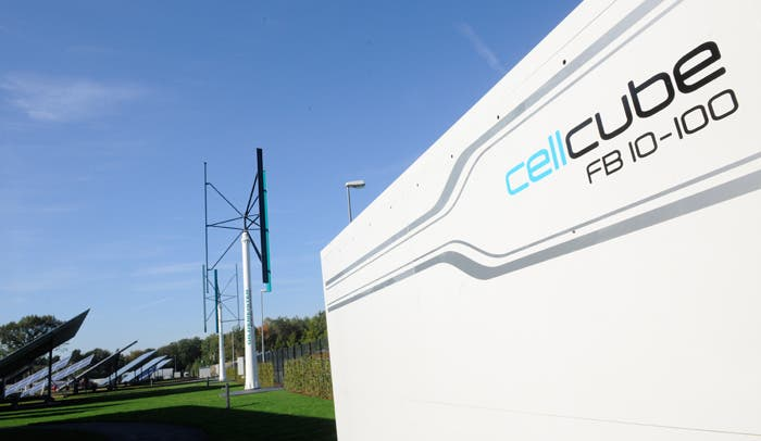 Gildemeister Provides Cellcube Energy Storage Systems Two
