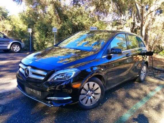2014-Mercedes-B-Class-Electric-Drive-2. Image credit: Kyle Field | CleanTechnica