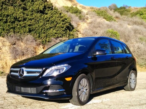 2014-Mercedes-B-Class-Electric-Drive-7. Image credit: Kyle Field | CleanTechnica