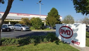 The BYD Lancaster Factory