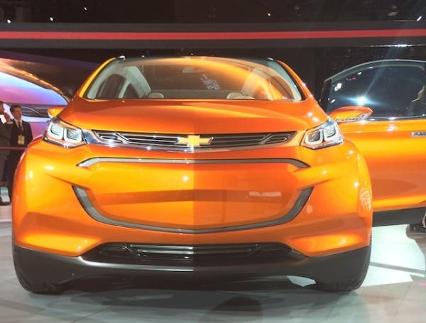 GM renewable energy Bolt EV preview by Tina Casey