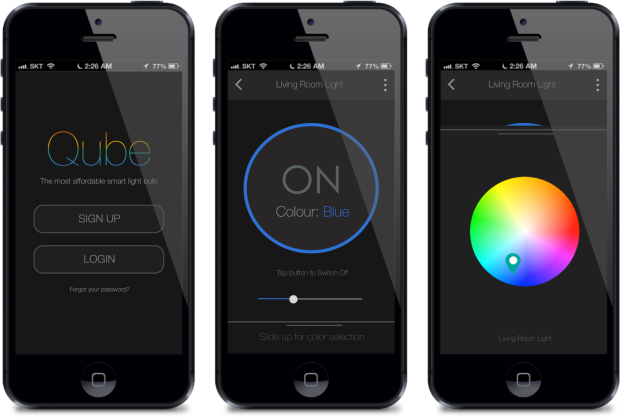 qube smart bulb heads to indiegogo as world s most affordable