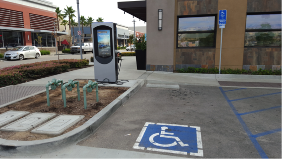 accessible_charging. Image credit: Kyle Field | CleanTechnica