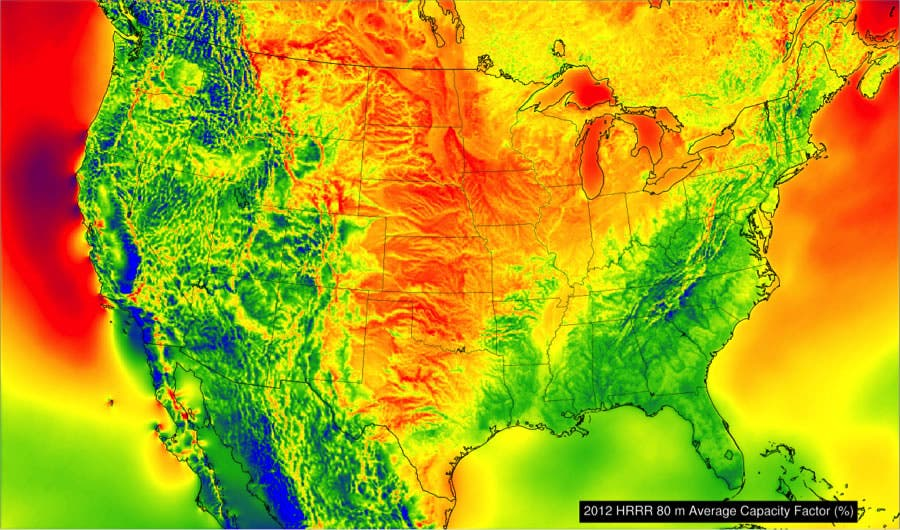 US Could Cut Energy Production Emissions By In Years Says NOAA - Us map noaa
