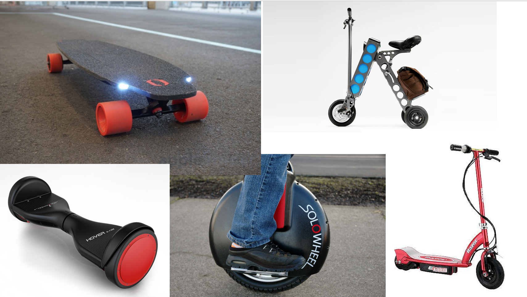 Hoverboards Aren't The Rideables Winner