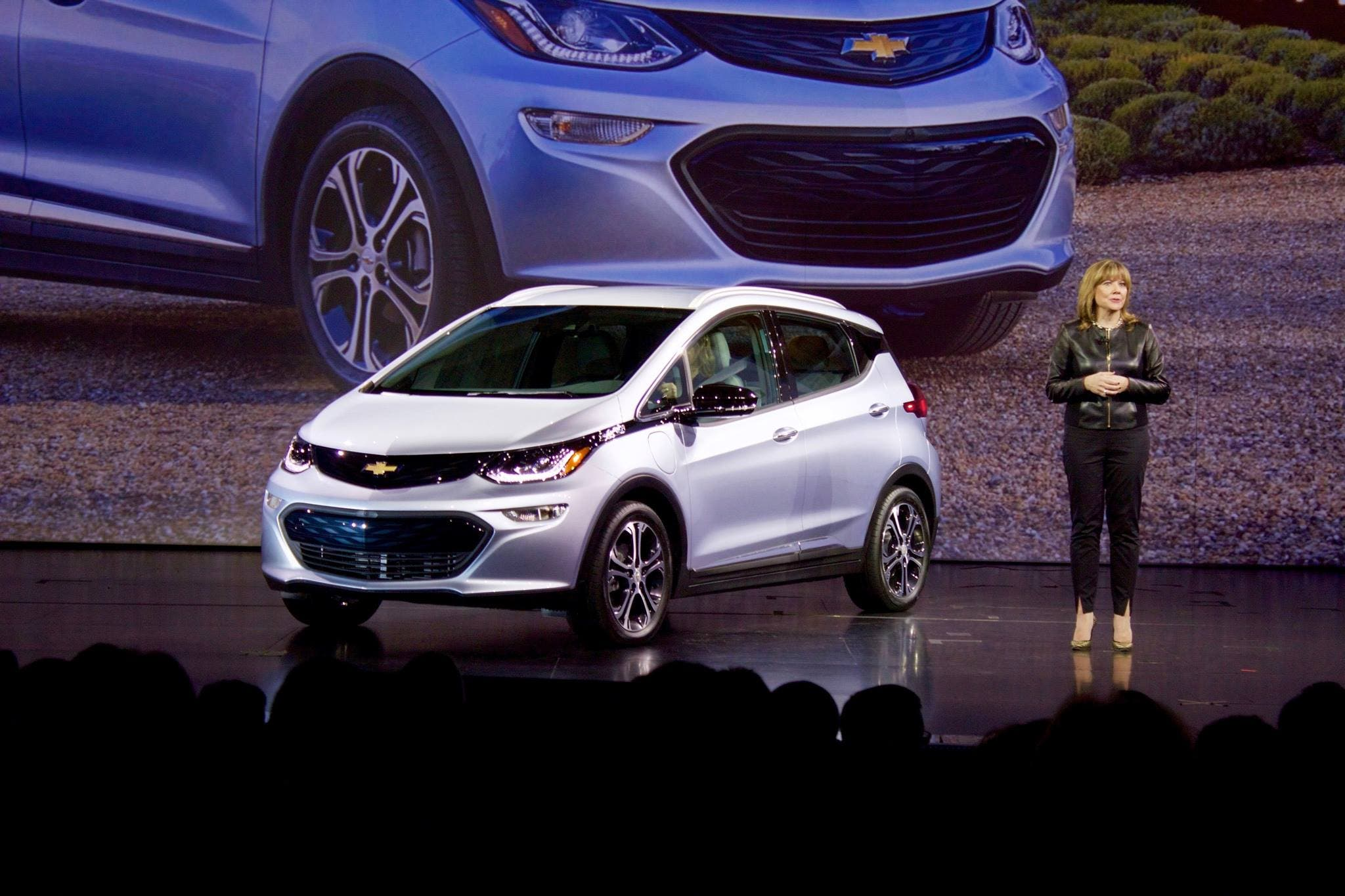 Chevy Unveils the Production Bolt at 2016 CES | CleanTechnica