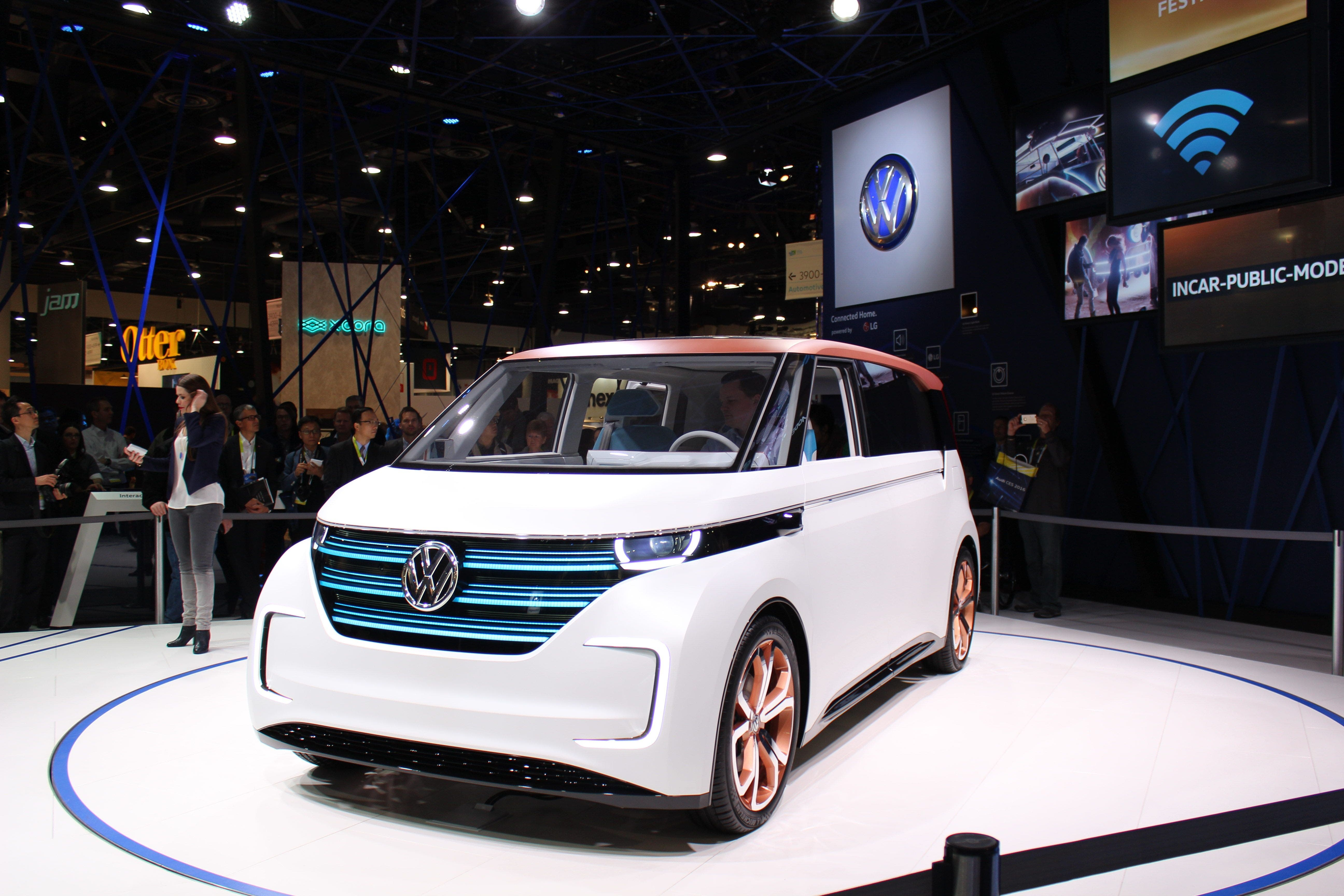 Volkswagen's Latest Concept Wants to be Your BUDD-e | CleanTechnica