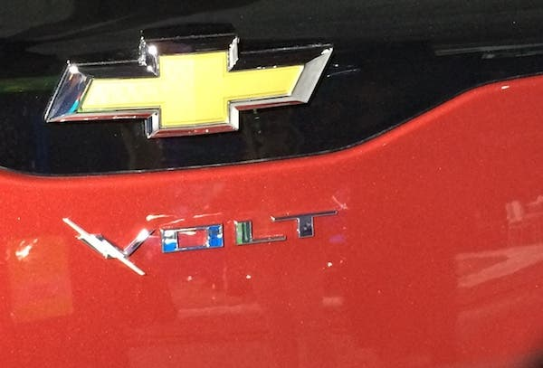 GM Chevy fuel cell EV