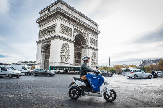 Electric Scooter Rental Program Launched In Paris ...