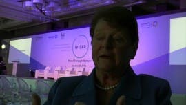 Interview With Gro Harlem Brundtland, Grandmother of Sustainability (Video)