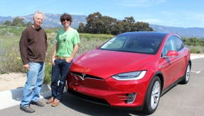 Don Max Zach Tesla Model X
