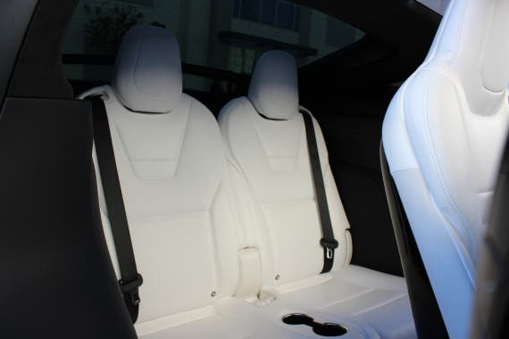 Tesla Model X 3rd row seats