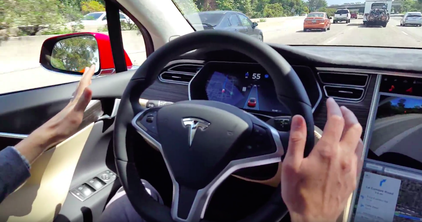 photo image Tesla's New Autopilot Update Improves Safety & Hints At A 100% Self-Driving Future