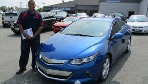 2017 Chevy Volt Blue