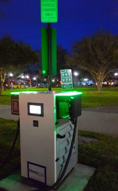 Nissan DC Fast Charging Station CHAdeMO