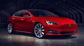 Tesla Model S new facelift