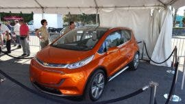 Chevy Bolt California