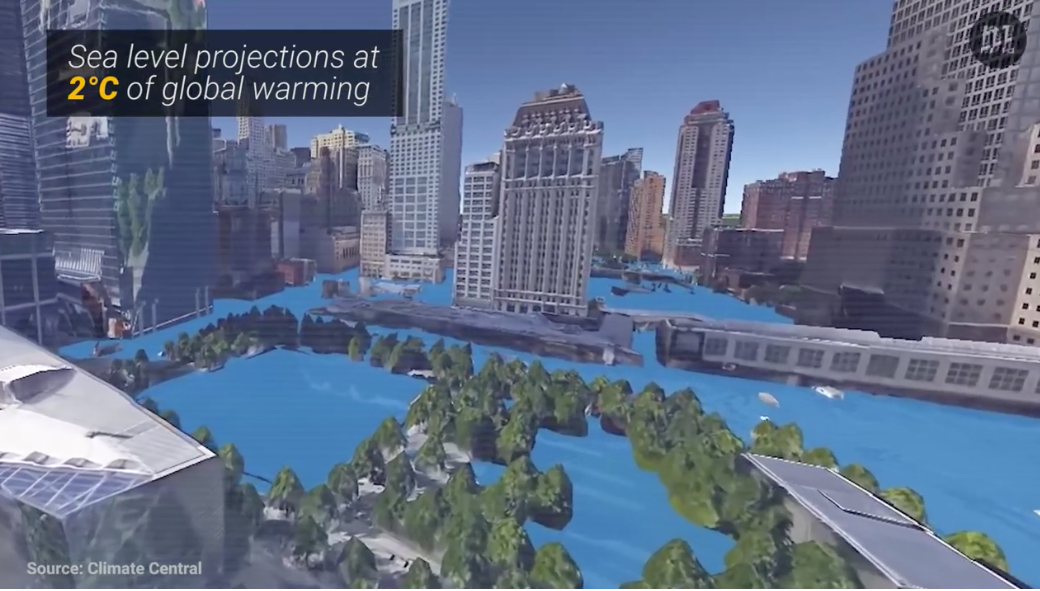 Nissan Of New Orleans >> What Do Climate Change & Rising Seas Hold In Store For New York City? | CleanTechnica
