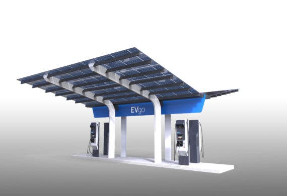 evgo-superfast-charging-station