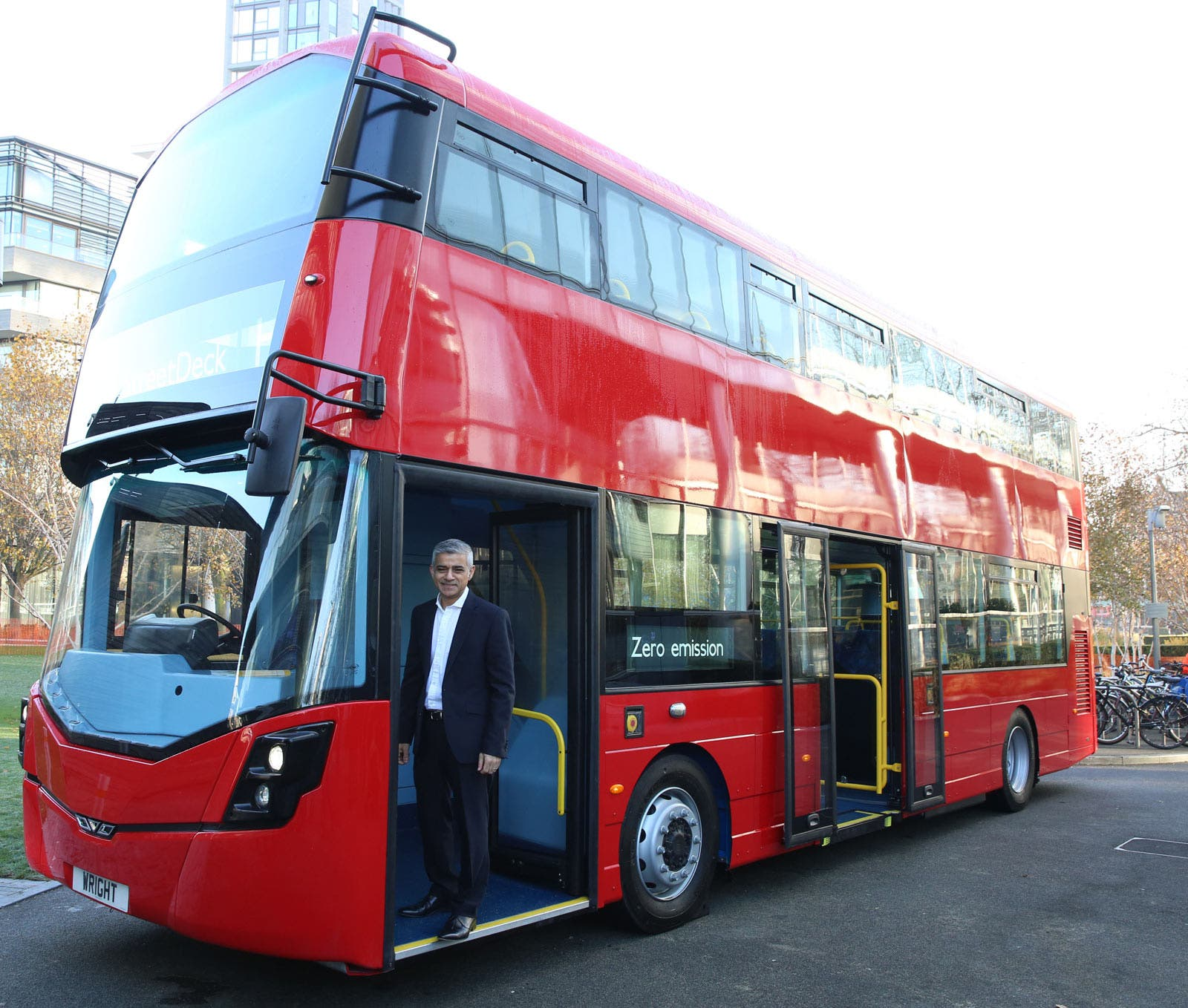 Mayor Of London All New Single Decker Buses For Center Of