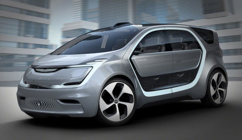 So What Exactly Is The Fiat Chrysler Portal Concept It S An All Electric Semi Autonomous Van That Was Developed With Help Of Panasonic And Looks