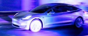 fastest electric cars Tesla Model 3