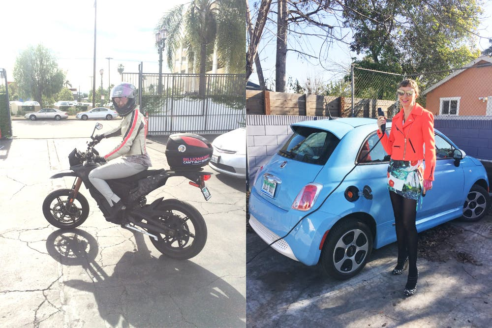 Fiat 500e Review From Biker Chick | CleanTechnica