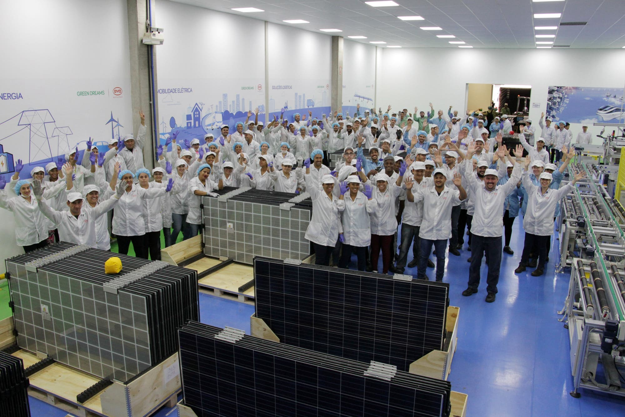 Byd Expands Brazilian Operations With New Pv Solar Panel