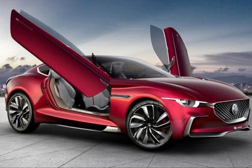 Electric MG EMotion Concept Could Spell Return Of The British Car - British cars
