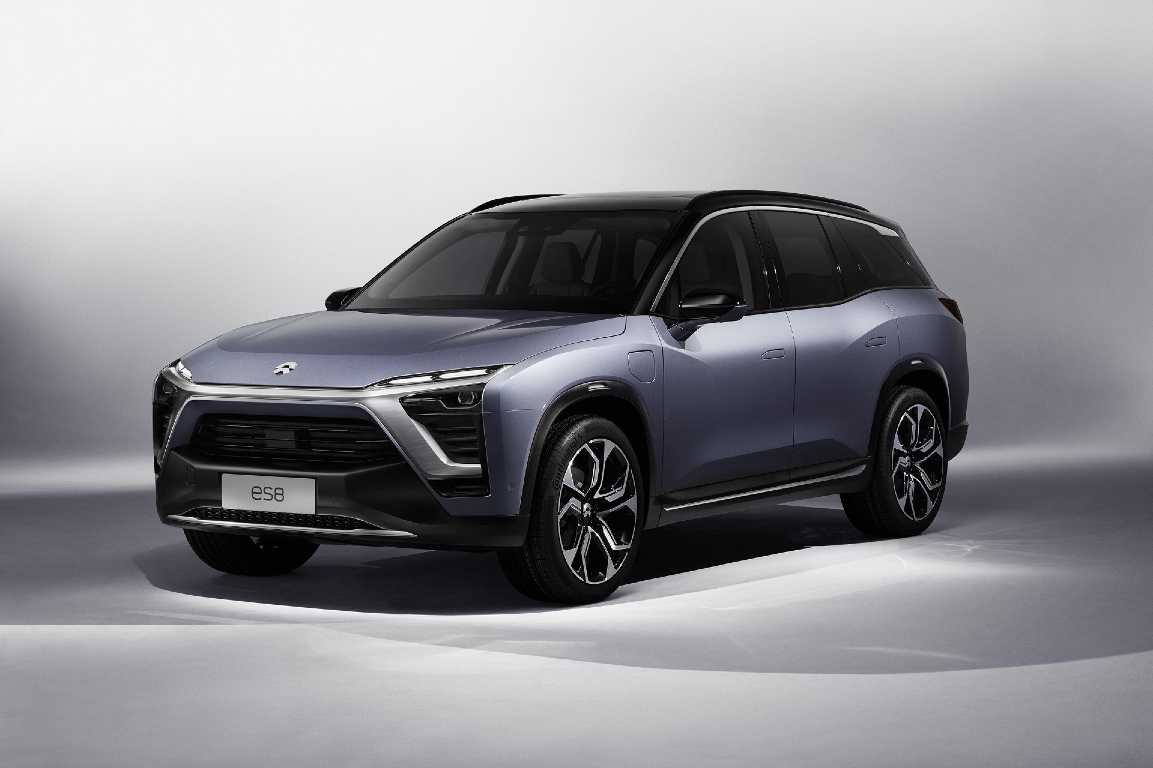 In Addition To The New Vehicle Unveiling Company Also Announced That It Would Begin Taking Pre Orders For Previously Revealed Nio Ep9 Which Has