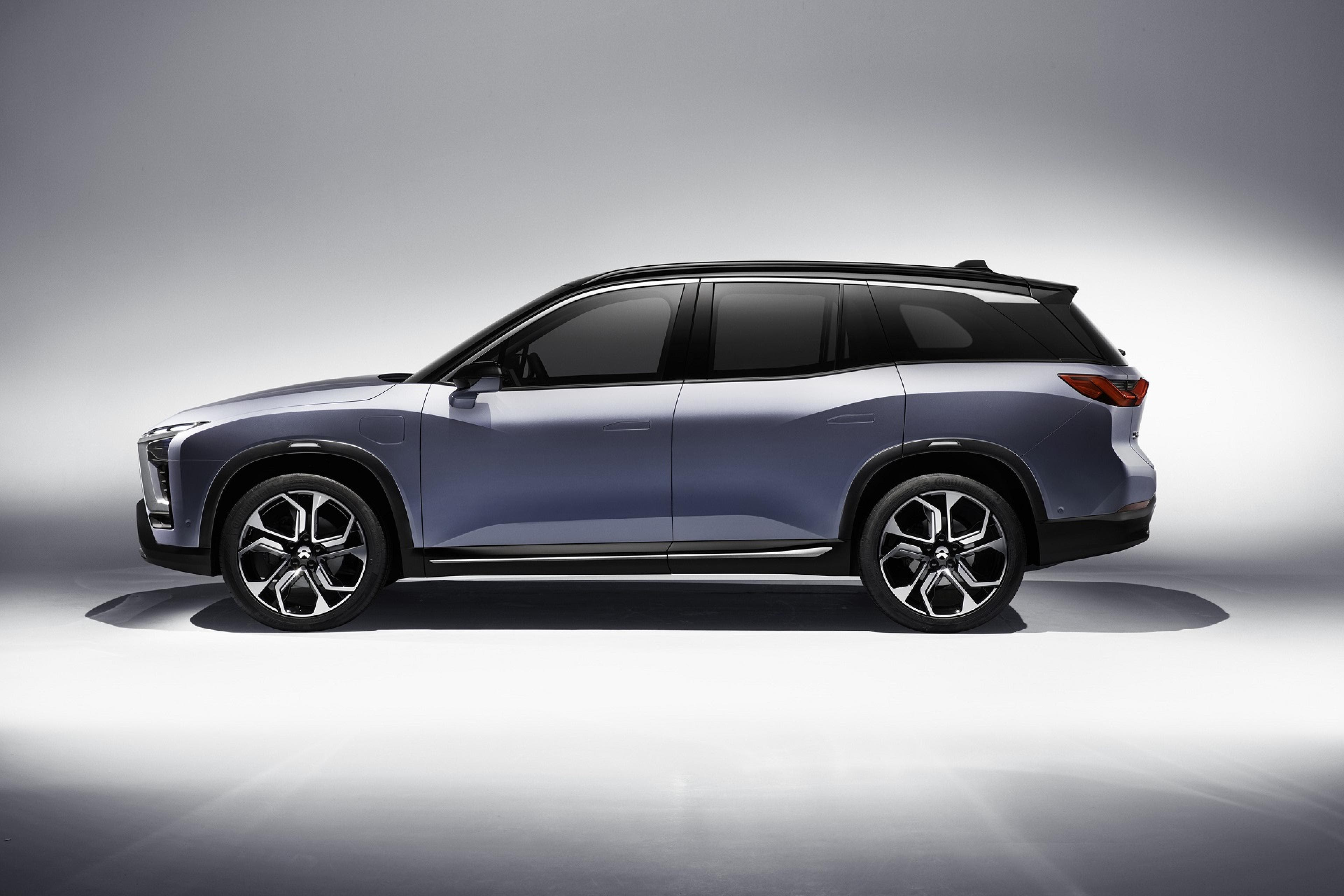 8 Seater Suv >> NIO (NextEV) Unveils ES8 — Electric SUV Slated For Production Later This Year | CleanTechnica