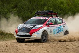 """Nissan LEAF AT-EV """"Going Off The Grid"""" — Driving 10,000 Miles From UK To Mongolia This Summer"""