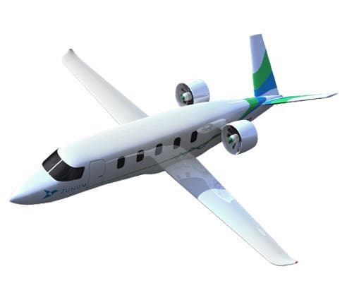 Hybrid-electric airplane Zunum Aero