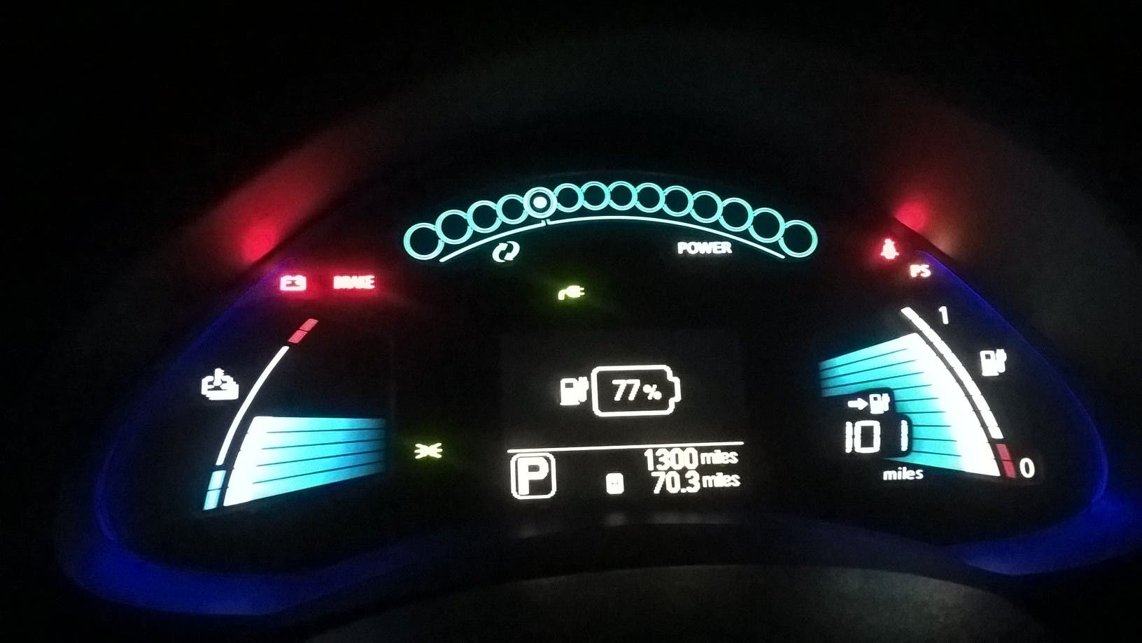 Increased Range Of The Thing Which Was Showing 101 Miles In Guess O Meter With 77 Charge Equaling To Some 130 210 Kms A Full