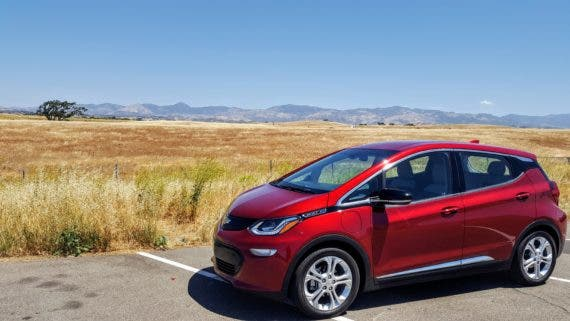 Chevy Bolt EV cost UBS