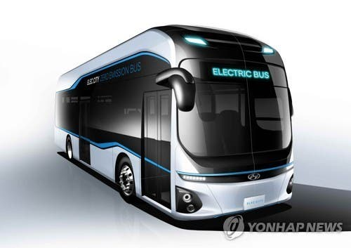 hyundai to unveil fully electric bus soon cleantechnica. Black Bedroom Furniture Sets. Home Design Ideas