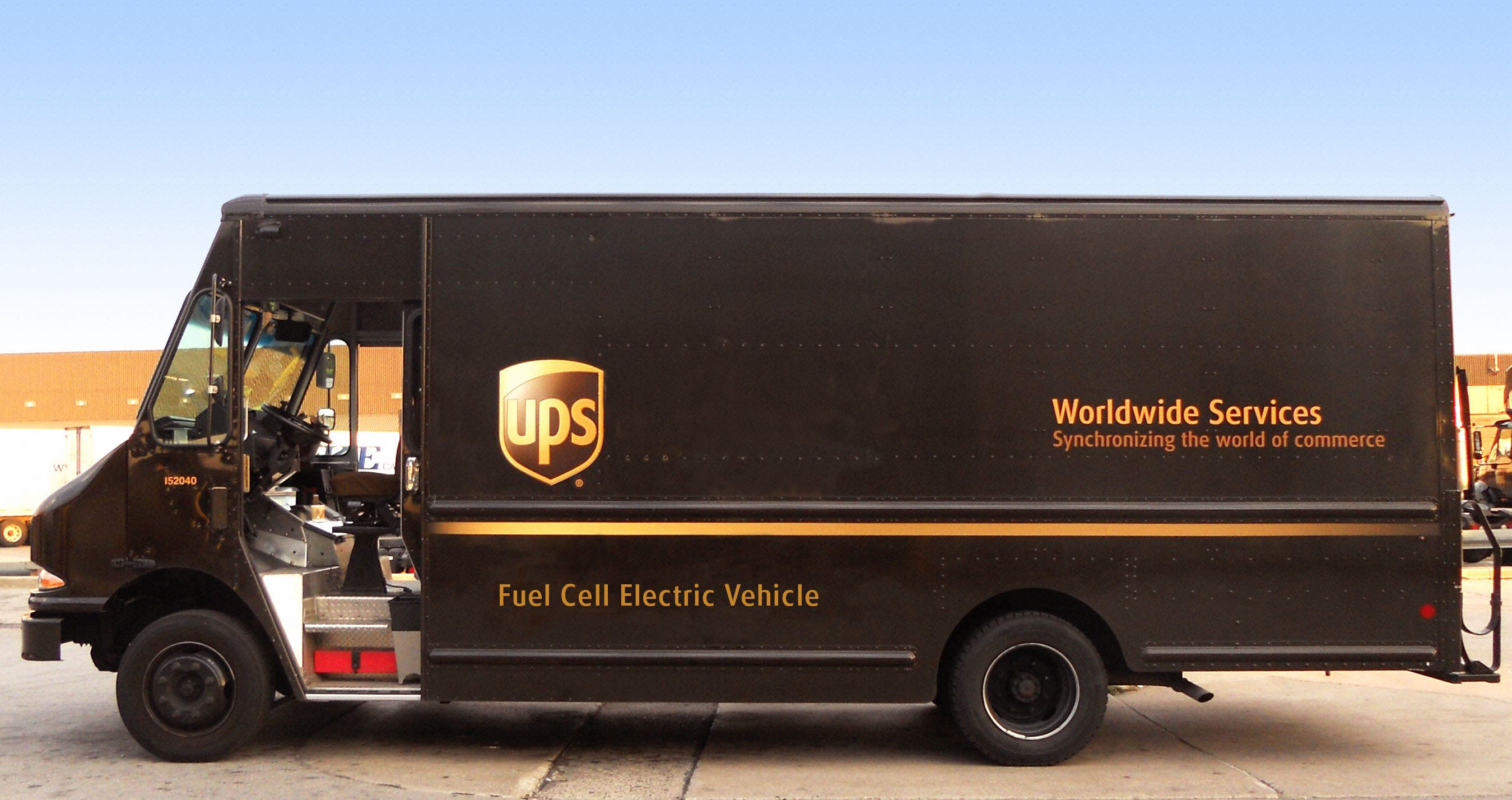 Ups To Deploy 1st Electric Hydrogen Rex Trucks In