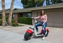 Electric Big Phat Scooter Offers Versatility & Oomph