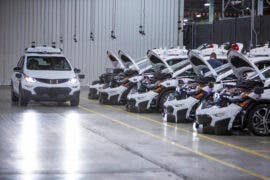 GM Completes Production Of First 130 Next-Gen Self-Driving Chevy Bolt EVs