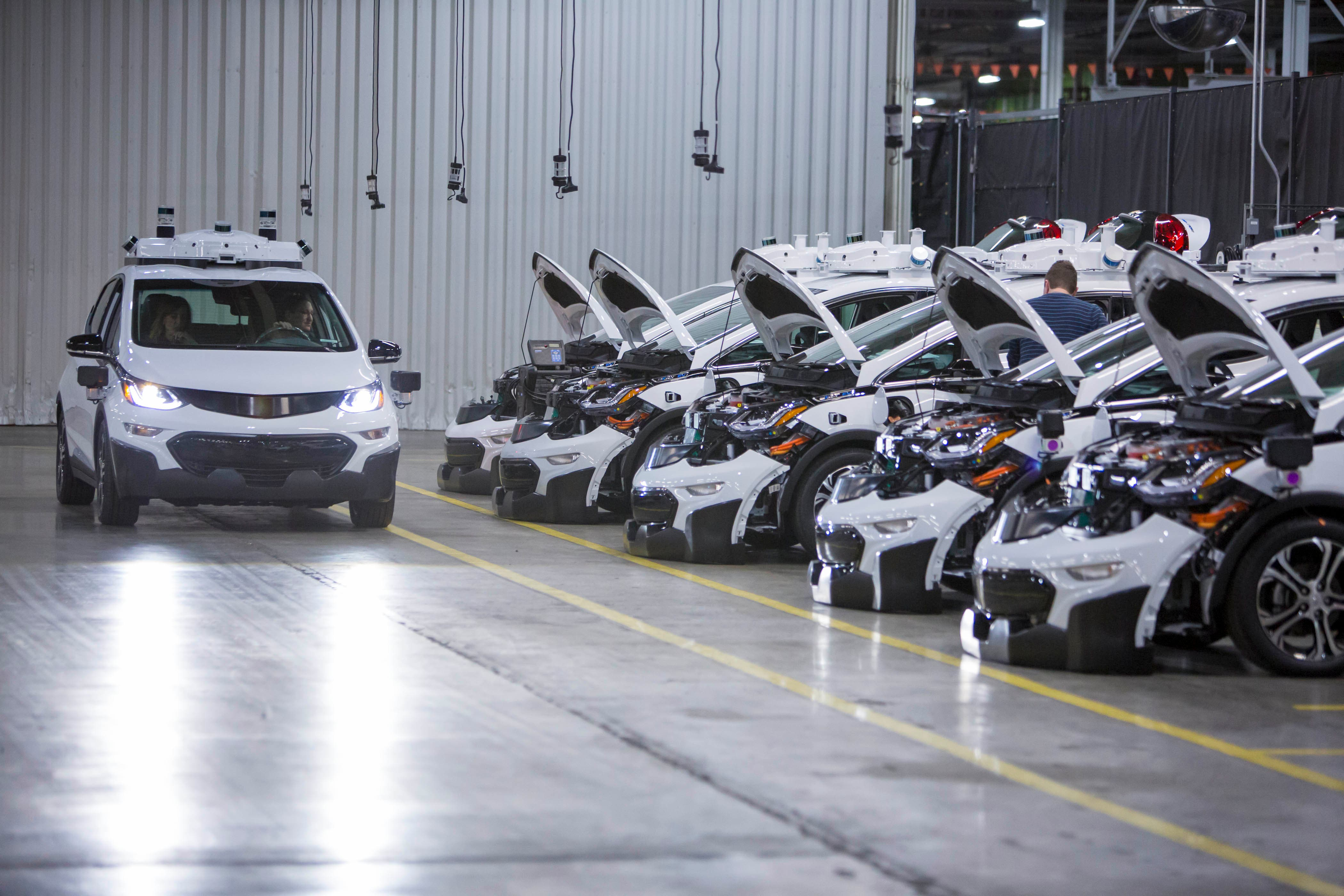 new car dealership press releaseGM Completes Production Of First 130 NextGen SelfDriving Chevy