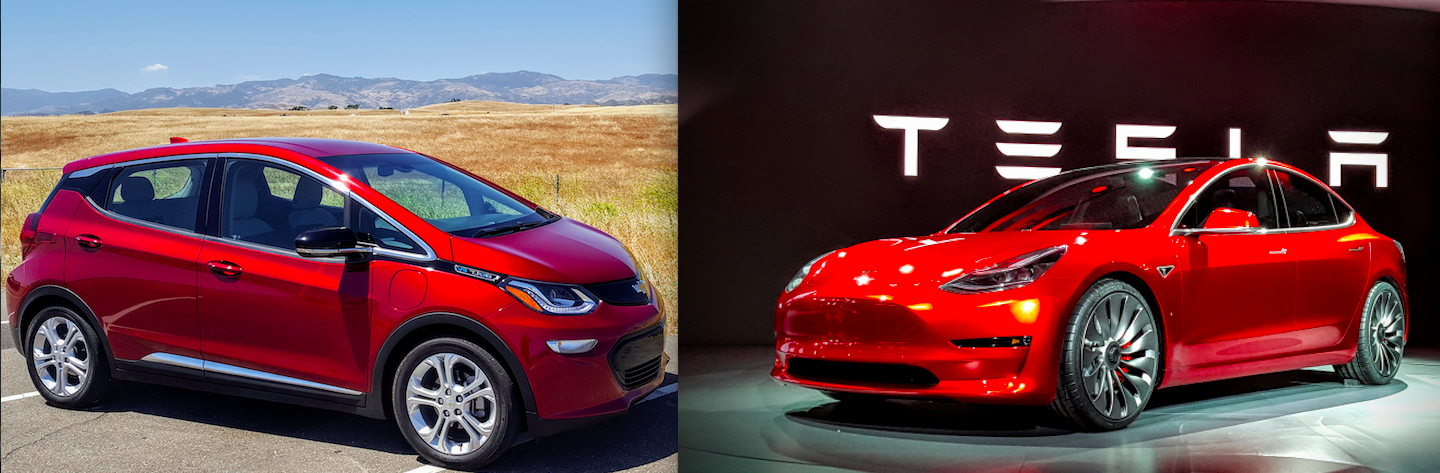 And Tesla Model S Compare