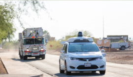 "Waymo's Self-Driving Pacifica Minivans Recently Underwent ""First Emergency Vehicle Testing Day"""