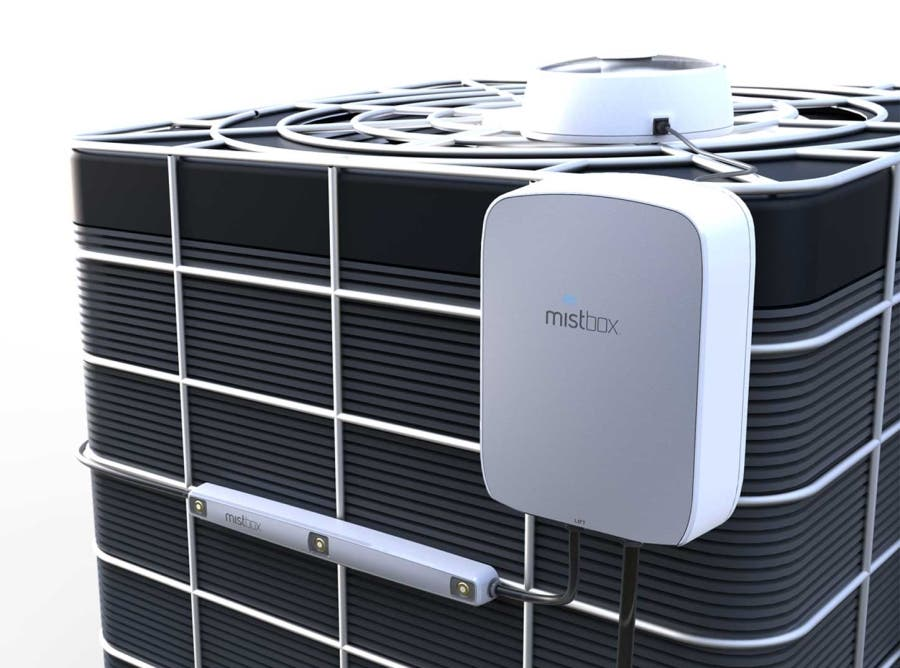 Mistbox Uses Decidedly Old School Technology To Boost Ac Efficiency 30 Cleantechnica