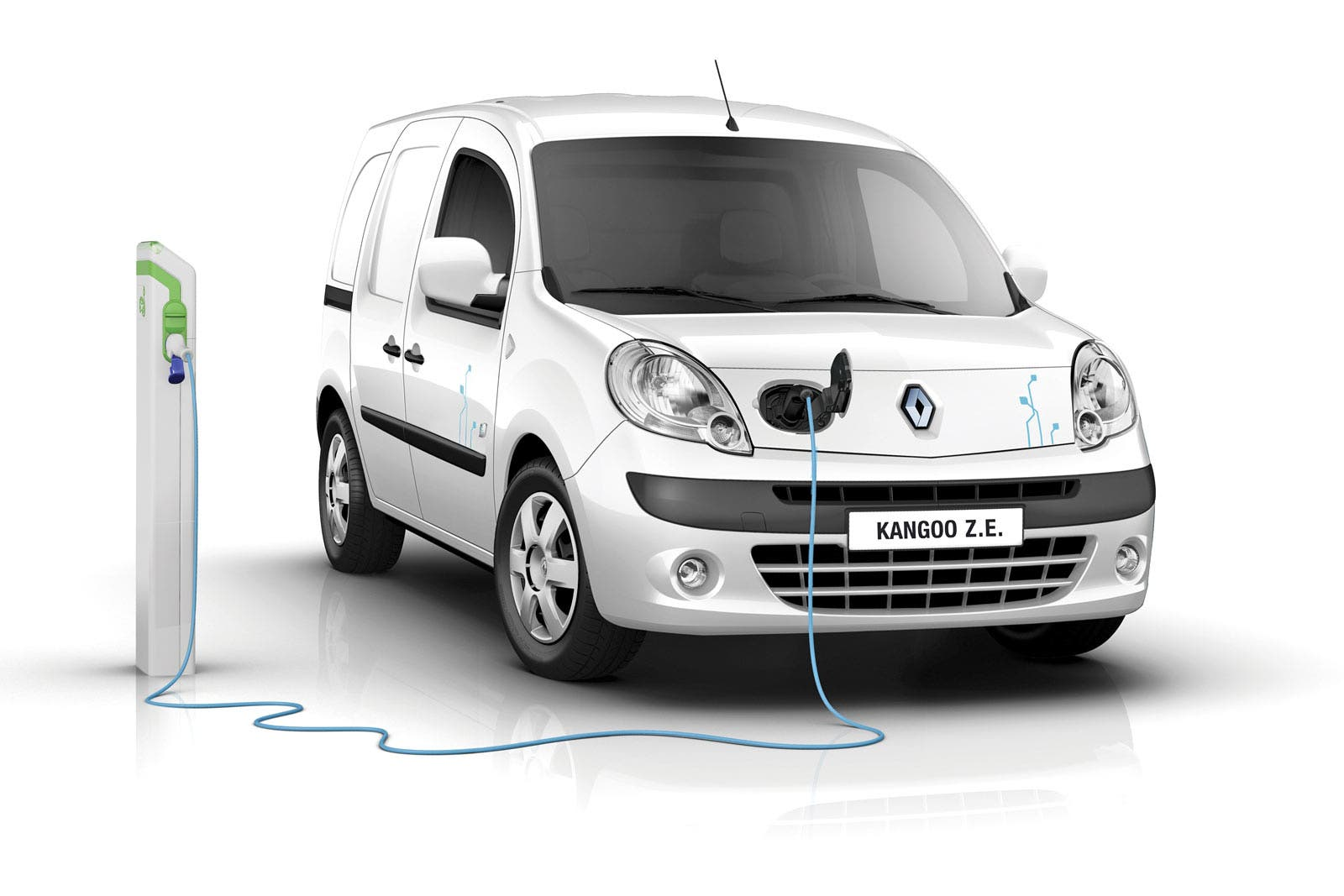 refreshed renault kangoo ze now on sale in europe with. Black Bedroom Furniture Sets. Home Design Ideas
