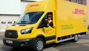 DHL Work XL electric delivery van